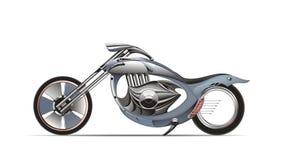 Custom Chopper. An illustration of custom chopper. Marine design theme Stock Image