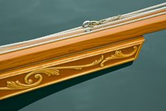 Custom Craftsmanship Bowsprit Royalty Free Stock Image