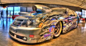 Custom Dodge Avenger drag car Royalty Free Stock Photos