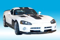 Custom Dodge Viper royalty free stock image