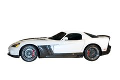 Custom Dodge Viper With Clipping path Royalty Free Stock Photography