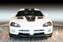 Custom Dodge Viper, Front View Stock Images