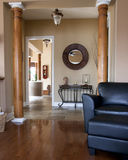 Custom finished home interior. View of hallway Royalty Free Stock Photography