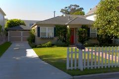 Custom Home In Newport Beach, CA Royalty Free Stock Photo