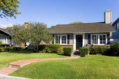 Custom Home In Newport Beach, CA. Exterior shot of a custom home in Newport Beach, CA Royalty Free Stock Image