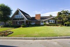 Custom Home In Newport Beach, CA Stock Photo