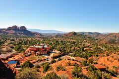Custom home in Sedona Stock Image