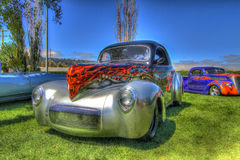 Custom Hot Rods Royalty Free Stock Photo