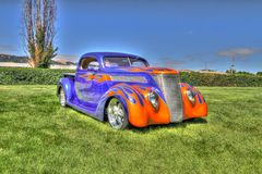 Custom Hot Rods Royalty Free Stock Images