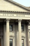 Custom House Royalty Free Stock Photos