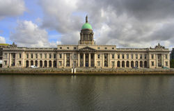 Custom House. The Custom House, a neoclassical 18th century building in Dublin, Ireland Stock Photography