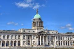 The Custom House in Dublin, Ireland. The Custom House across the River Liffey in Dublin, Ireland Stock Photography