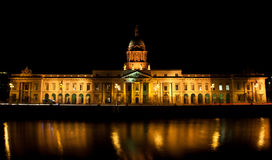 The Custom House Dublin Royalty Free Stock Photo