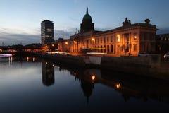 Custom House in Dublin royalty free stock photography