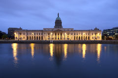 Custom House in Dublin Ireland Stock Image