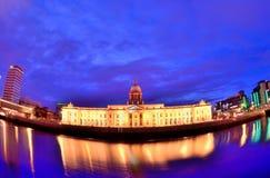 Custom House. In Dublin Ireland Stock Images