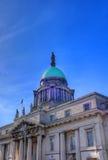 The Custom House in Dublin, Ireland. The Custom House across the River Liffey in Dublin, Ireland Stock Images