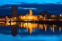 Custom House in Dublin, Ireland Royalty Free Stock Photo