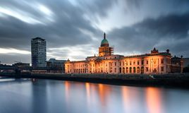 Custom House Dublin Ireland Royalty Free Stock Photo