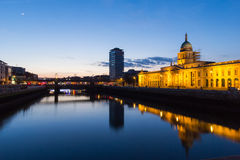 Custom House - Dublin Stock Photo