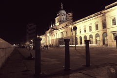Custom House, Dublin royalty free stock photography