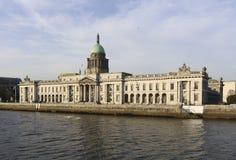 Custom House, Dublin. royalty free stock photography