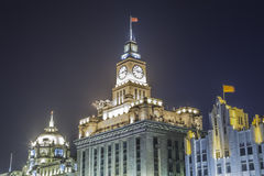 The Custom House. Located in the Bund in Shanghai China Royalty Free Stock Image