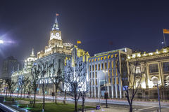 The Custom House. Located in the Bund in Shanghai China Stock Photos