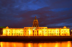 Custom House on the river Liffey, Dublin Royalty Free Stock Photography