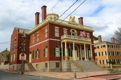 Custom House, Salem, Massachusetts Royalty Free Stock Photography