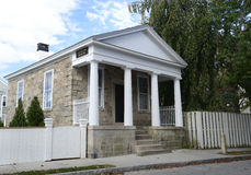 Custom house in Stonington Connecticut Stock Photo