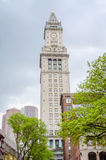 Custom House Tower, Boston. USA stock images