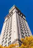 Custom House Tower in the center of Boston, Massachusetts Royalty Free Stock Photography