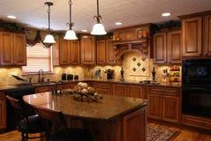 Custom Kitchen. A beautiful interior of a custom kitchen