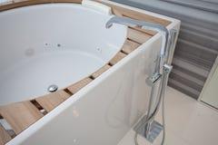Custom Luxury Bath Royalty Free Stock Photography