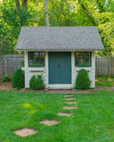 Custom Made Garden Shed Royalty Free Stock Photo