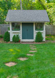 Custom Made Garden Shed Royalty Free Stock Images