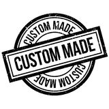 Custom Made rubber stamp Stock Photography