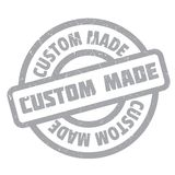 Custom Made rubber stamp Royalty Free Stock Photos