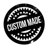 Custom Made rubber stamp Stock Photo