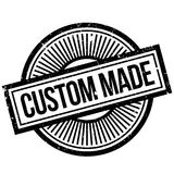 Custom Made rubber stamp. Grunge design with dust scratches. Effects can be easily removed for a clean, crisp look. Color is easily changed Stock Images