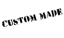 Custom Made rubber stamp. Grunge design with dust scratches. Effects can be easily removed for a clean, crisp look. Color is easily changed Stock Photos