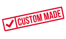Custom Made rubber stamp. Grunge design with dust scratches. Effects can be easily removed for a clean, crisp look. Color is easily changed Royalty Free Stock Image