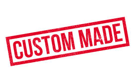 Custom Made rubber stamp Royalty Free Stock Photography