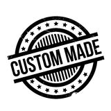 Custom Made rubber stamp. Grunge design with dust scratches. Effects can be easily removed for a clean, crisp look. Color is easily changed Stock Photography