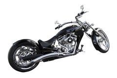 Custom motorbike. Isolated on white background Stock Photography