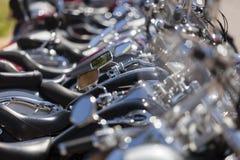 Custom motorbikes lane Stock Photo