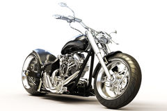 Custom Motorcycle Stock Photo