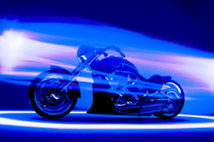 Custom motorcycle Royalty Free Stock Photo
