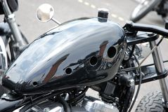 Custom motorcycles Stock Photo